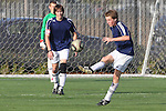 El Segundo, CA 02/04/10 - Nate Edwards (El Segundo#8) in action during the El Segundo - Torrance league game, El Segundo defeated Torrance with a late minute goal in the second overtime period.