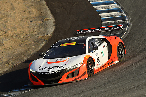 Pirelli World Challenge<br /> Intercontinental GT Challenge California 8 Hours<br /> Mazda Raceway Laguna Seca<br /> Monterey, CA USA<br /> Sunday 15 October 2017<br /> Ryan Eversley/ Tom Dyer/ Dane Cameron<br /> World Copyright: Jay Bonvouloir<br /> Jay Bonvouloir Motorsports Photography