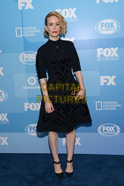 NEW YORK - MAY 11: Actress Sarah Paulson arrives at the 2015 FOX Programming Presentation Post Party at the Wollman Rink in Central Park on May 11, 2015 in New York City. <br /> CAP/MPI/PGCS<br /> &copy;PGCS/MPI/Capital Pictures