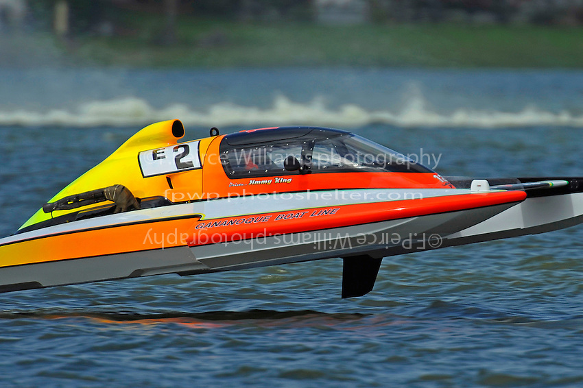 "Jimmy King, E-2 ""Pleasure Seeker""   (5 Litre class hydroplane(s)"