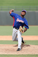 Fabio Castillo - Texas Rangers - 2010 Instructional League.Photo by:  Bill Mitchell/Four Seam Images..