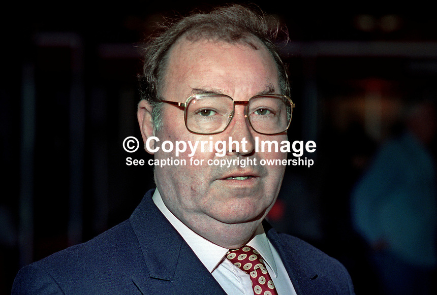 Norman West, MEP, Labour Party, UK, at annual conference. 199409029a.<br />