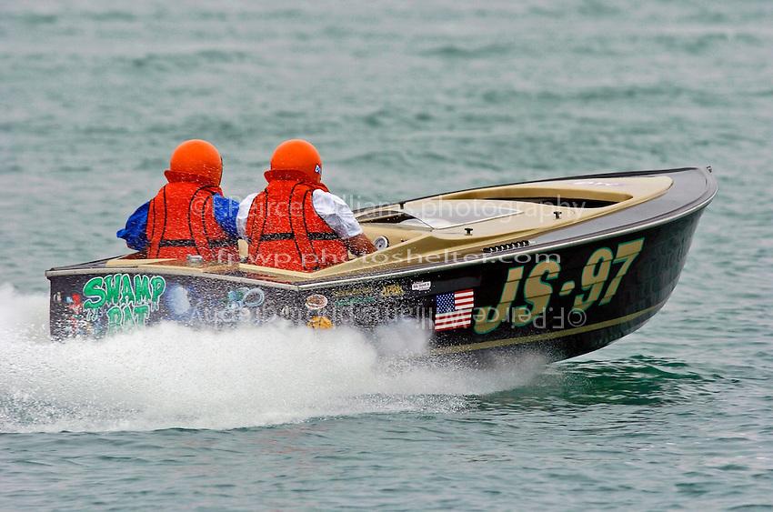 """JS-97 """"Swap Rat"""", (Jersey Speed Skiff)"""