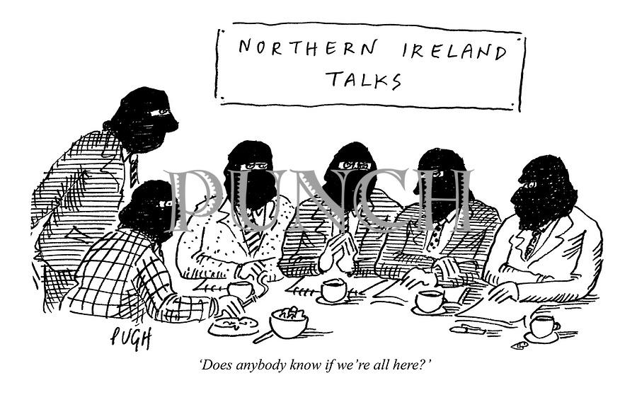'Does anybody know if we're all here?'