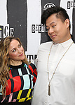Dana Steingold and Kelvin Moon Loh attends Broadway's 'Beetlejuice' - First Look Photo Call at Subculture  on February 28, 2019 in New York City.