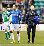 Kenny Miller back on the pitch at full time