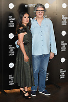 Salma Hayek &amp; Miguel Arteta at the Sundance Film Festival: London opening photocall at Picturehouse Central, London.<br /> 01 June  2017<br /> Picture: Steve Vas/Featureflash/SilverHub 0208 004 5359 sales@silverhubmedia.com