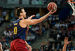Herbalife Gran Canaria's player Royce O'Neale and FC Barcelona Lassa player Victor Claver during the final of Supercopa of Liga Endesa Madrid. September 24, Spain. 2016. (ALTERPHOTOS/BorjaB.Hojas)