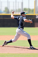 Danny Hultzen - Mariners 2011 Instructional League (Bill Mitchell). Danny Hultzen, the Mariners 2011 1st round draft pick, pitches in his first game for the organization in an Instructional League game against the Padres at Peoria Sports Complex on October 1, 2011 in Peoria, Arizona.