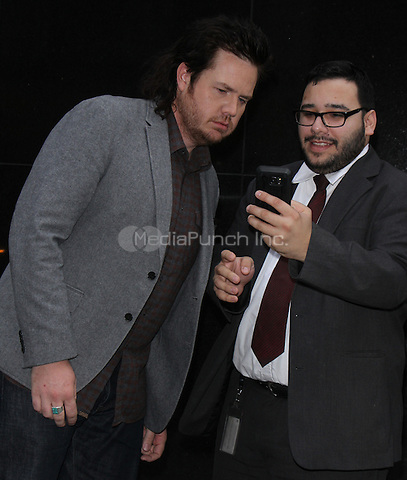 NEW YORK, NY December 05:  Josh McDermitt at Good Day New York to talk about the current season of the Walking Dead in New York .December 05, 2016. Credit:RW/MediaPunch