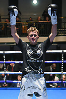 Jake Pettitt defeats Denis Bartos during a Boxing Show at York Hall on 2nd March 2018