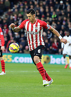 Pictured Sunday 01 February 2015<br /> Re: Premier League Southampton v Swansea City FC at St Mary's Ground, Southampton, UK.