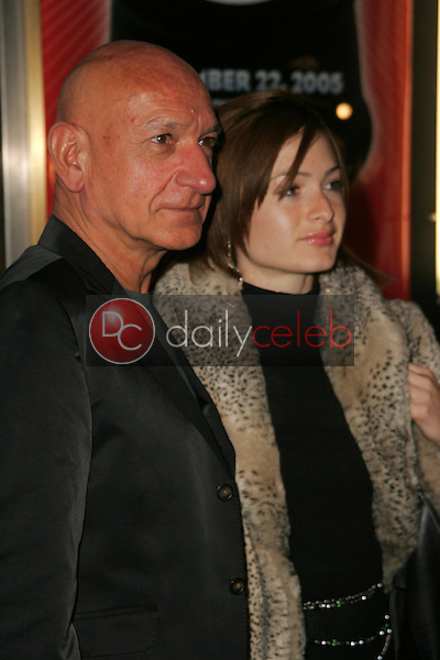 """Ben Kingsley and Davina Ferreira<br />at the Opening of """"Irving Berlin's White Christmas"""". Pantages Theatre, Hollywood, CA. 11-28-05<br />Dave Edwards/DailyCeleb.com 818-249-4998"""