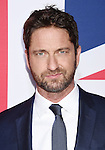 HOLLYWOOD, CA - MARCH 01: Actor Gerard Butler attends the premiere of Focus Features' 'London Has Fallen' held at ArcLight Cinemas Cinerama Dome on March 1, 2016 in Hollywood, California.
