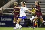 15 September 2011: Duke's Kaitlyn Kerr. The Duke University Blue Devils defeated the College of Charleston Cougars 3-0 at Koskinen Stadium in Durham, North Carolina in an NCAA Division I Women's Soccer game.