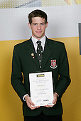 Mountain Biking Winner - Thomas Reynolds. ASB College Sport Young Sportsperson of the Year Awards 2006, held at Eden Park on Thursday 16th of November 2006.<br />