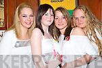 Martha Stack, Duagh, Sarah Quinn, Listowel, Julie Irwan O'Keeffe, Duagh and Aysa Sweeney, Listowel enjoying Mary Goulding's hen party in Listowel on Saturday night.   Copyright Kerry's Eye 2008