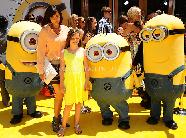 WWW.ACEPIXS.COM<br /> <br /> June 22 2013, New York City<br /> <br /> Catherine Bell arriving at the 'Despicable Me 2' premiere at Universal CityWalk on June 22, 2013 in Universal City, California.<br /> <br /> <br /> By Line: Peter West/ACE Pictures<br /> <br /> <br /> ACE Pictures, Inc.<br /> tel: 646 769 0430<br /> Email: info@acepixs.com<br /> www.acepixs.com