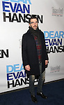 Zachary Quinto attends the Broadway Opening Night Performance of 'Dear Evan Hansen'  at The Music Box Theatre on December 1, 2016 in New York City.