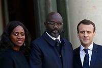 20180221 Esteri visita Presidente Liberia in Francia