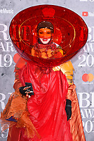 LONDON, UK. February 20, 2019: Daniel Lismore arriving for the BRIT Awards 2019 at the O2 Arena, London.<br /> Picture: Steve Vas/Featureflash<br /> *** EDITORIAL USE ONLY ***