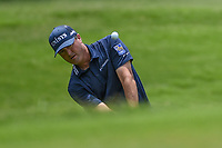Ryan Palmer (USA) chips up on to 2 during round 4 of the 2019 Charles Schwab Challenge, Colonial Country Club, Ft. Worth, Texas,  USA. 5/26/2019.<br /> Picture: Golffile | Ken Murray<br /> <br /> All photo usage must carry mandatory copyright credit (© Golffile | Ken Murray)