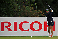 Hannah Green (AUS) on the 2nd tee during Round 3 of the Ricoh Women's British Open at Royal Lytham &amp; St. Annes on Saturday 4th August 2018.<br /> Picture:  Thos Caffrey / Golffile<br /> <br /> All photo usage must carry mandatory copyright credit (&copy; Golffile | Thos Caffrey)