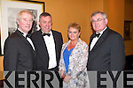 ENJOYING: Christy Killeen (Listowel) with Donal, Emer and Johnny Mulvihill (Moyvane) enjoying the Feale Rangers Ball in The Listowel Arms Hotel on Friday night.   Copyright Kerry's Eye 2008