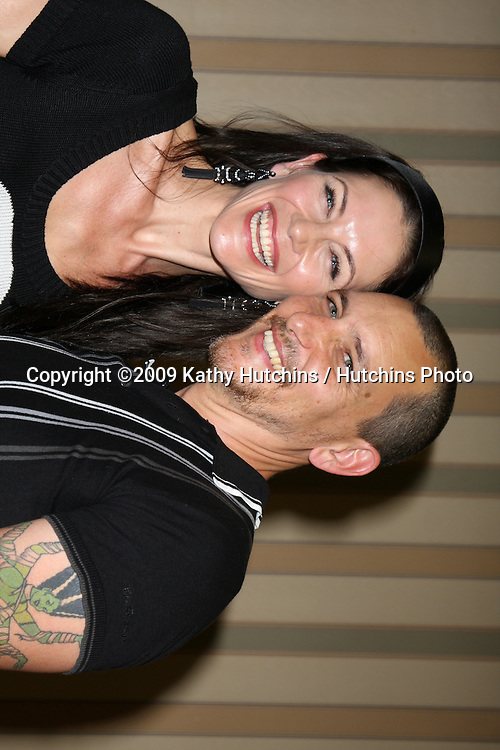 Stacy Haiduk & husband Bradford Tatum  at  The Young & the Restless Fan Club Dinner  at the Sheraton Universal Hotel in  Los Angeles, CA on August 28, 2009.©2009 Kathy Hutchins / Hutchins Photo.