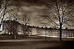 The Royal Crescent at Bath, England