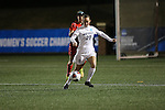 SALEM, VA - DECEMBER 3:Emily Lockwood (27) moves the ball upfield during theDivision III Women's Soccer Championship held at Kerr Stadium on December 3, 2016 in Salem, Virginia. Washington St Louis defeated Messiah 5-4 in PKs for the national title. (Photo by Kelsey Grant/NCAA Photos)