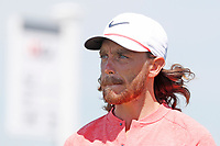 Tommy Fleetwood (ENG) tees off on the first hole during the third round of the 118th U.S. Open Championship at Shinnecock Hills Golf Club in Southampton, NY, USA. 16th June 2018.<br /> Picture: Golffile | Brian Spurlock<br /> <br /> <br /> All photo usage must carry mandatory copyright credit (&copy; Golffile | Brian Spurlock)