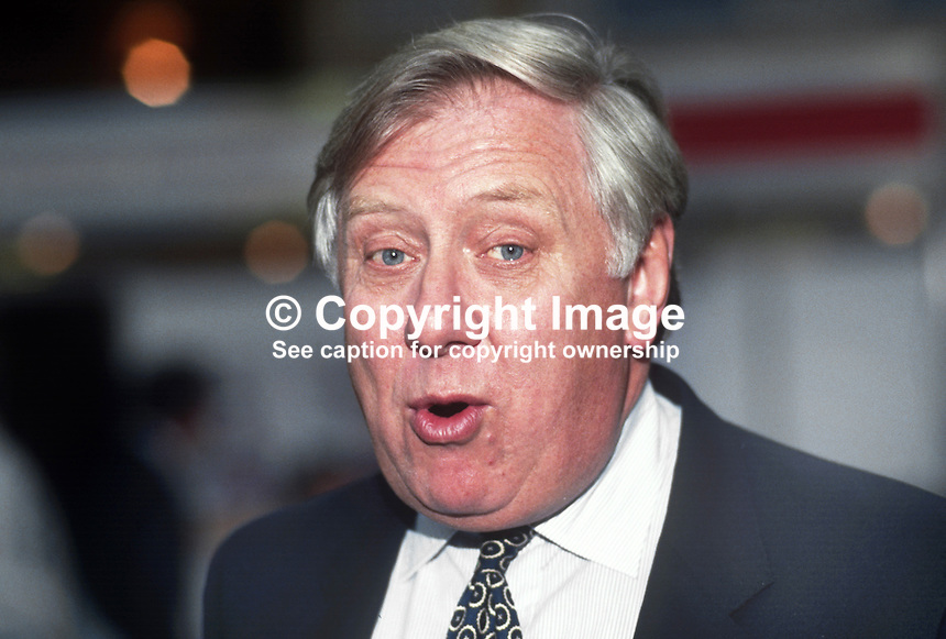 Roy Hattersley, MP, Labour Party, UK, 1990101010.<br />