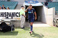 Cary, North Carolina  - Sunday May 21, 2017: Debinha prior to a regular season National Women's Soccer League (NWSL) match between the North Carolina Courage and the Chicago Red Stars at Sahlen's Stadium at WakeMed Soccer Park. Chicago won the game 3-1.