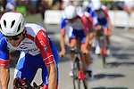 Groupama-FDJ recon Stage 1 of La Vuelta 2019, a team time trial running 13.4km from Salinas de Torrevieja to Torrevieja, Spain. 24th August 2019.<br /> Picture: Eoin Clarke | Cyclefile<br /> <br /> All photos usage must carry mandatory copyright credit (© Cyclefile | Eoin Clarke)
