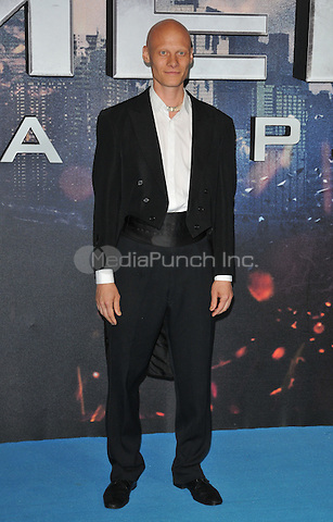Tomas Lemarquis at the &quot;X-Men : Apocalypse&quot; global fan screening, BFI Imax, Charlie Chaplin Walk, London, England, UK, on Monday 09 May 2016.<br /> CAP/CAN<br /> &copy;CAN/Capital Pictures /MediaPunch ***NORTH AMERICA AND SOUTH AMERICA ONLY***
