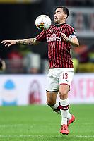 Alessio Romagnoli <br /> Milano 20/10/2019 Stadio Giuseppe Meazza <br /> Football Serie A 2019/2020 <br /> AC Milan - Lecce <br /> Photo Image Sport / Insidefoto