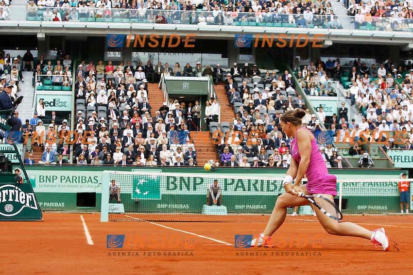 Sara Errani (ITA).Parigi 09/06/2012 Roland Garros.Tennis Grande Slam Finali..Foto Insidefoto / Gwendoline Le Goff / Panoramic..ITALY ONLY.