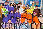 Loreto NS who performed their Christmas play at the school on Sunday front row l-r: Lawrence O'Donoghue, Caoimhe Fleming, Owen Brosnan, middle row: Charles O'Brien, Saidbh Murphy, Caoilinn O'Donoghue, Ailbhe Gammell., treasa O'Sullivan, Chloe Coughlan. Back row: Jack Cooper, Darragh Kelly, Dan Kelliher, Peter Walsh, Paudie O'Donoghue, Daniel Carroll, Robert O'Shea, William Shine, Niamh stack, Ryan O'Grady and Jack Greaney