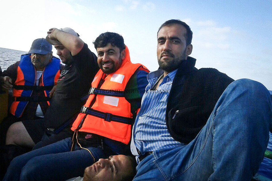 Mediterranean sea: Abu Ali had to pay 2000$ per adult, for children it was free.
