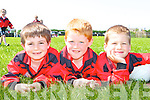 Geraoid Griffin, Sean Sheahan and Diarmuid McGillicuddy Glenbeigh relaxing at the Cromane fun day in the Cromane GAA field on Sunday   Copyright Kerry's Eye 2008