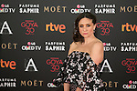 Ana Botto attends 30th Goya Awards red carpet in Madrid, Spain. February 06, 2016. (ALTERPHOTOS/Victor Blanco)