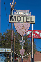 Arrow Motel Sign Route 66 Amarillo Texas