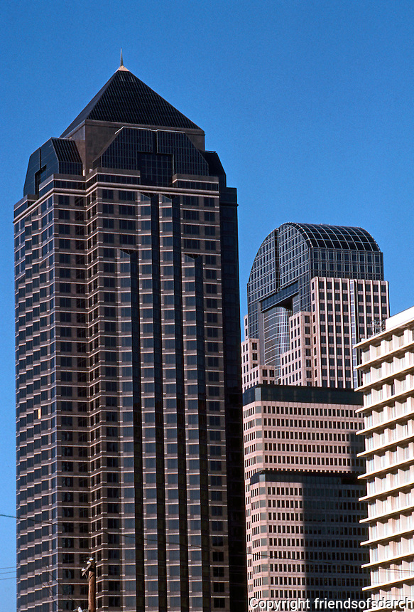 Dallas:  Dallas Skyline, 1996.