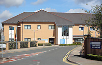 Pictured: St David's Hospital in Cardiff, Wales, UK. Friday 26 August 2016<br />