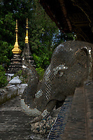Temples, Monasteries and amzing artifacts in Luang Prabang, Laos