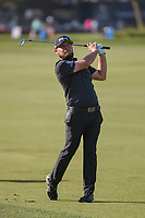 Tyrrell Hatton (ENG) watches his approach shot on 1 during round 3 of the Arnold Palmer Invitational at Bay Hill Golf Club, Bay Hill, Florida. 3/9/2019.<br /> Picture: Golffile | Ken Murray<br /> <br /> <br /> All photo usage must carry mandatory copyright credit (© Golffile | Ken Murray)