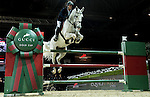 Olivier Philippaerts of Belgium riding Cabrio van de Heffinck in action at the Gucci Gold Cup during the Longines Hong Kong Masters 2015 at the AsiaWorld Expo on 14 February 2015 in Hong Kong, China. Photo by Victor Fraile / Power Sport Images