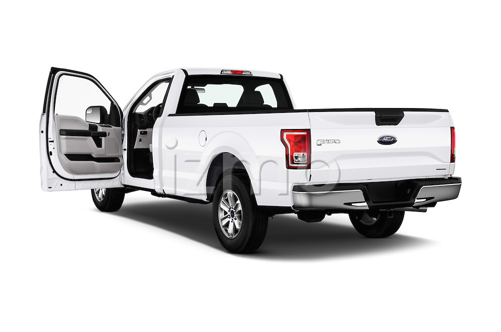 Car images of 2016 Ford F 150 XL 2 Door Pickup Doors