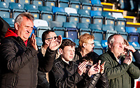 Fleetwood Town supporters applaud their team at the end of the match<br /> <br /> Photographer Andrew Kearns/CameraSport<br /> <br /> The EFL Sky Bet League One - Wycombe Wanderers v Fleetwood Town - Saturday 4th May 2019 - Adams Park - Wycombe<br /> <br /> World Copyright © 2019 CameraSport. All rights reserved. 43 Linden Ave. Countesthorpe. Leicester. England. LE8 5PG - Tel: +44 (0) 116 277 4147 - admin@camerasport.com - www.camerasport.com